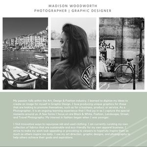 Other - About Madison Woodworth